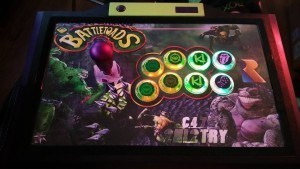 One sweet, sweet fight stick!